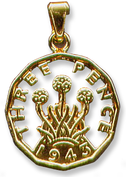Threepence year of birth 1937, 1938, 1939, 1940, 1941, 1942, 1943, 1944, 1945, 1946, 1948, 1949, 1950, 1951, 1952
