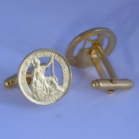 1928 coin cufflinks for a 90th birthday